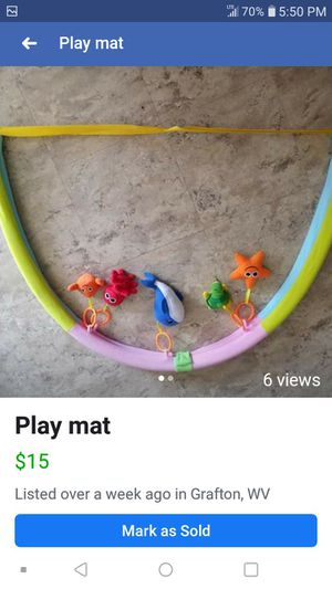 Play mat for Sale in Grafton, WV