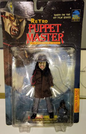 Vintage full moon toys retro puppet master action figure for Sale in Wilmington, DE