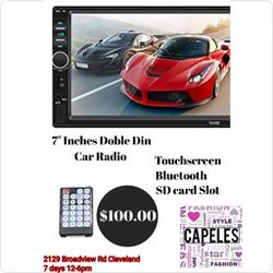 Car Radio, Touchscreen, Bluetooth for Sale in Cleveland,  OH