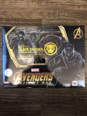 SH Figuarts Black Panther Avengers Infinity War for Sale in Hacienda Heights, CA