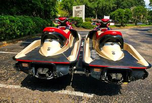 Twin 2OO2 Sea-D00 GTX 4-Tec_with_trailer_$1600 all! for Sale in Raleigh, NC