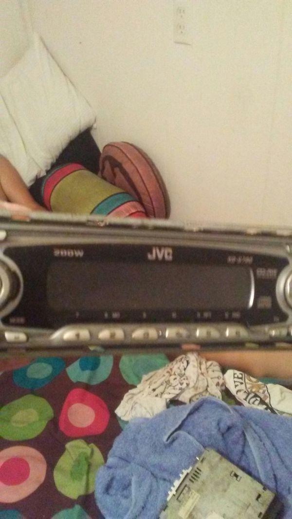 Car radios jvc