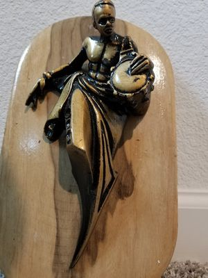 Wall Sculpture: Dancing Traditional African Man for Sale in Antioch, CA