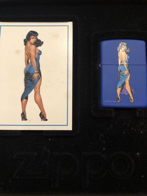 Bettie Page Zippo lighter for Sale in Miami, FL