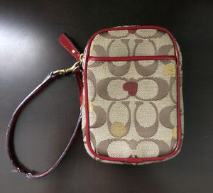 Coach small phone/ card wristlet for Sale in Skokie, IL