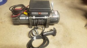 BADLAND 6000 Lb. Truck/SUV Winch With Remote Control And Automatic Brake for Sale in Orangevale, CA