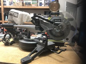 """RYOBI TSS102L Sliding Miter Saw with Laser 15-Amp 10"""" ...... for Sale in Baltimore, MD"""