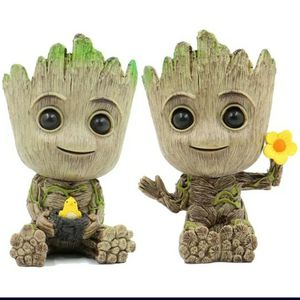 Plant Pot Indoor Outdoor Decorations BABY groot Succelant Flower Pot Cute Design for Sale in North Tustin, CA