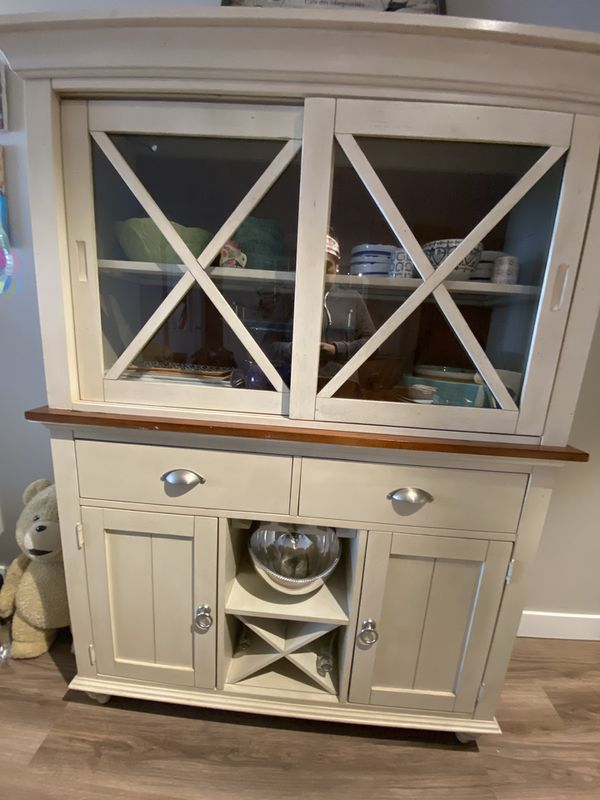 Farmhouse Hutch Storage