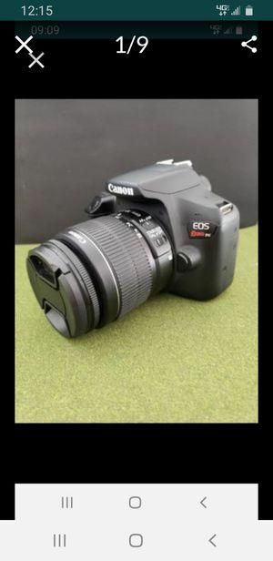 EOS T6 Canon Camera Bundle, 24 MP, WiFi, Video, Vivitar Lenses, Filters, Protective Bag for Sale in Jupiter, FL