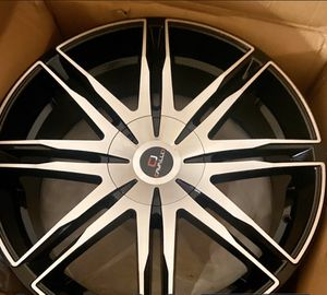 Brand new 3 22 inch rims must sell ASAP for Sale in Abilene, TX