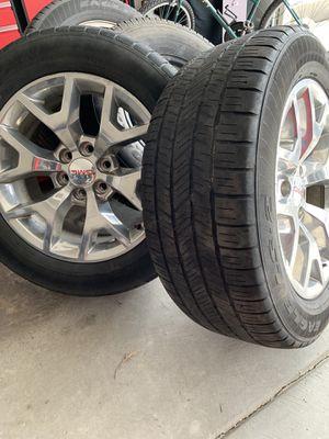 GMC Sierra OEM wheels & tires for Sale in BRIGHTON, CO