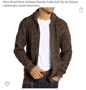 Brand new men's cardigan sweater for Sale in Redmond, WA