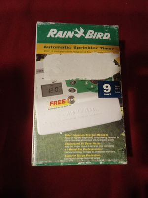 Rainbird sprinkler timer for Sale in Wichita, KS