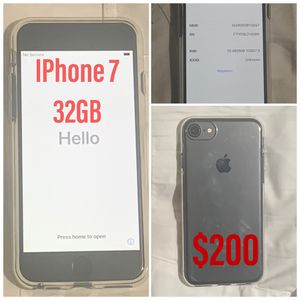 iPhone 7 for Sale in Fresno, CA