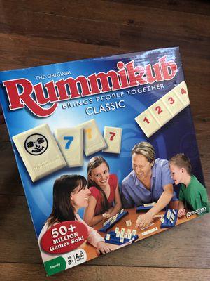 Like new Rummikub game - teaches math. Up to 4 players for Sale in Buckeye, AZ