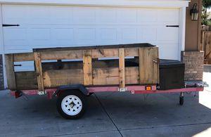 Foldable Utility trailer for Sale in Modesto, CA