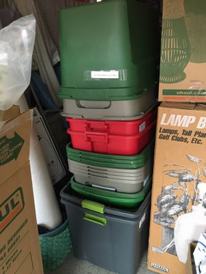 Storage Containers with lids for Sale in Redlands, CA