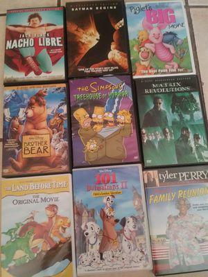 Nine DVD's Lot Kids n Adult for Sale in Phoenix, AZ