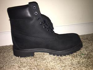 Black Timberland Men's Boots for Sale in Hiram, GA