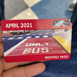 Monthly Ripta Buss Pass April 2021  for Sale in Providence, RI
