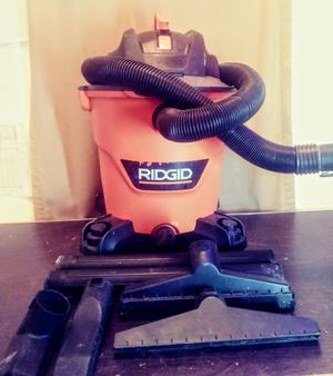 RIDGID 12 gallon wet/dry shop vac for Sale in Pueblo West, CO