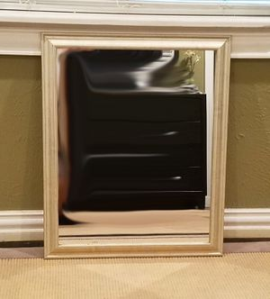 Silver Frame Hanging Wall Mirror for Sale in Dallas, TX