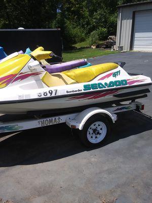 Sea Doo and Polaris sea doo with trailer for Sale in Lynchburg, VA