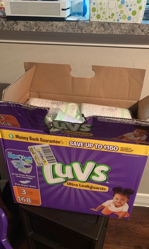 Luvs diapers Sz 3 for Sale in Conroe, TX