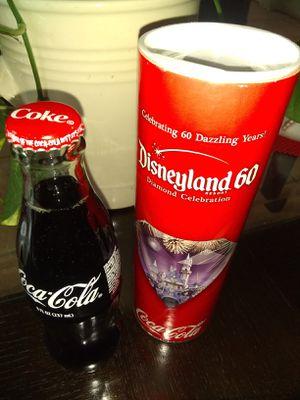 Disneyland resort 60th anniversary Coke bottle for Sale in Santa Ana, CA