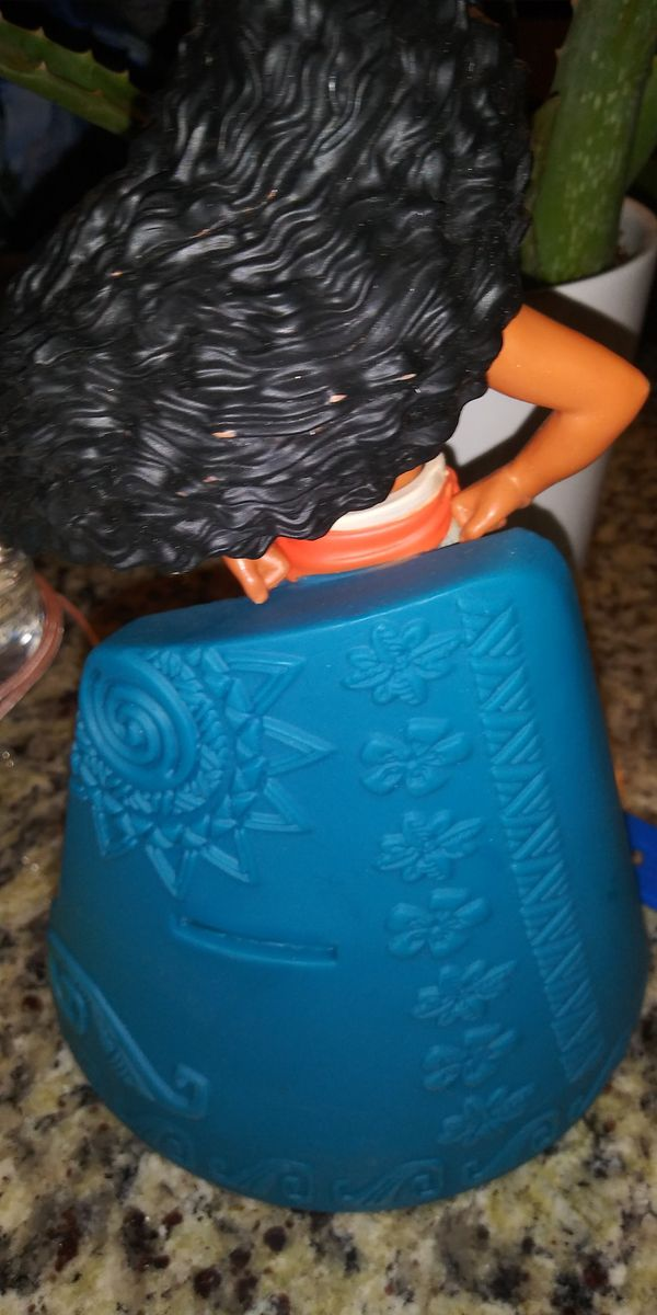 Moana piggy bank