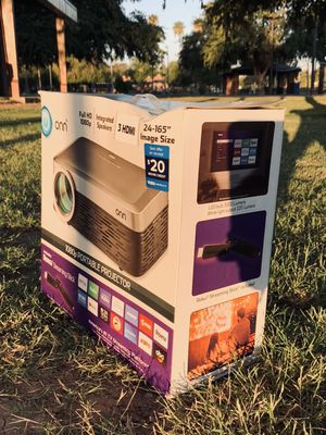 Brand New 1080p Projector w/Roku for Sale in Tempe, AZ