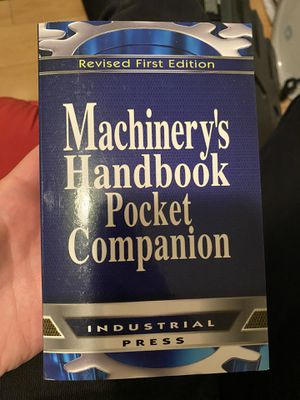 Machinery's handbook pocket companion for Sale in Glendale, CA