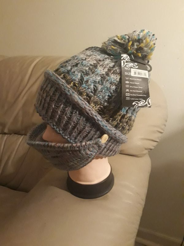 Winter hat with face mask