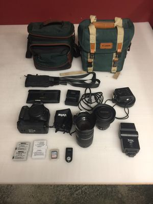 Canon T2i setup with 2 lenses and more for Sale in Evesham Township, NJ