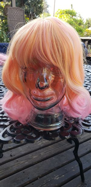 New sherbert ombre hair wig cosplay for Sale in Whittier, CA