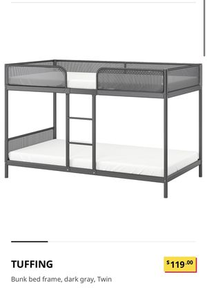 Bunk bed with mattress for Sale in Fremont, CA