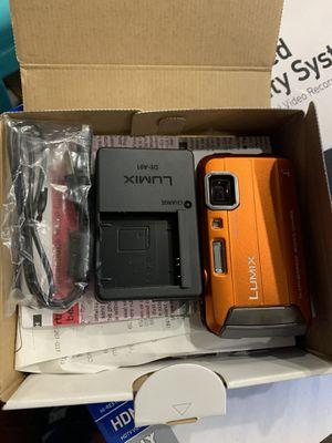 Panasonic DMC-TS25 Waterproof Digital Camera with 2.7-Inch LCD (Orange) DMC-TS25 for Sale in Lakewood, CA