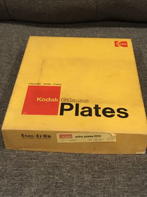 Kodak Glass Ortho Plates for Sale in Ithaca, NY