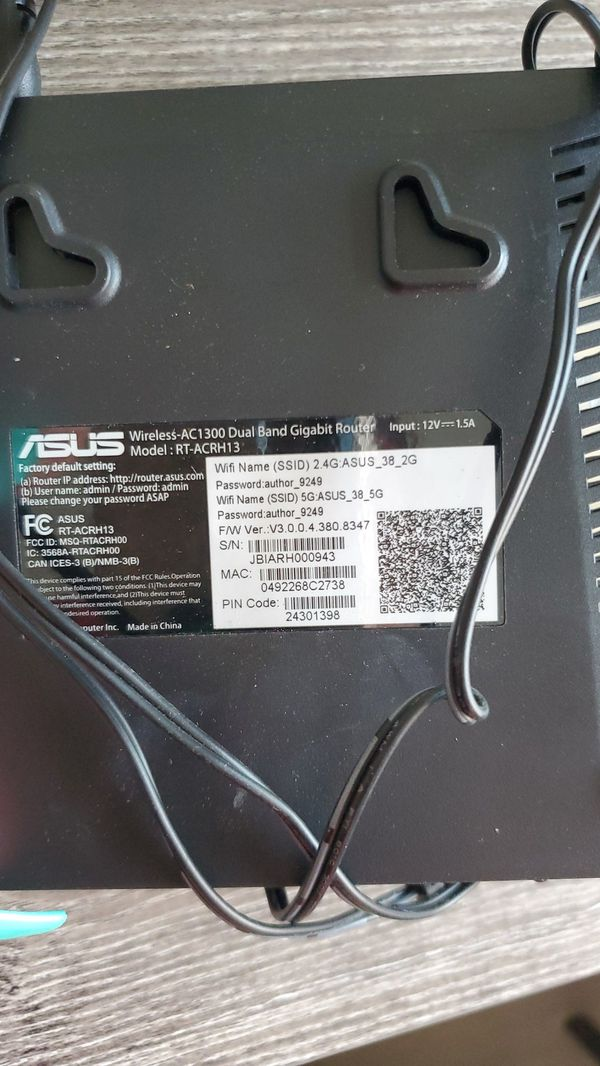ASUS Wireless Router AC1300