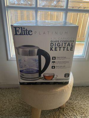 Elite Platinum digital Kettle for Sale in Dallas, TX