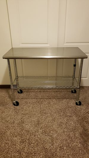 Stainless steel table for Sale in Osseo, MN