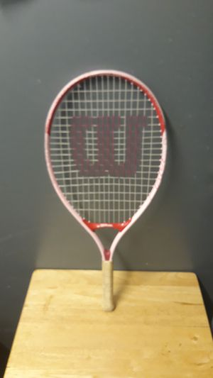 Wilson tennis. Racket. Girls. Pink for Sale in New York, NY