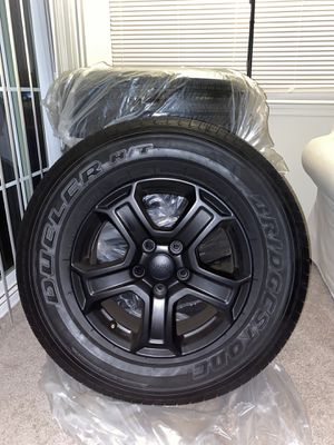 2020 JEEP WRANGLER UNLITMED SPORT JL WHEELS AND TIRES for Sale in Owings Mills, MD