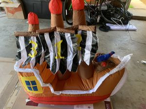 Inflatable and mobile pirate ship for Sale in Whittier, CA