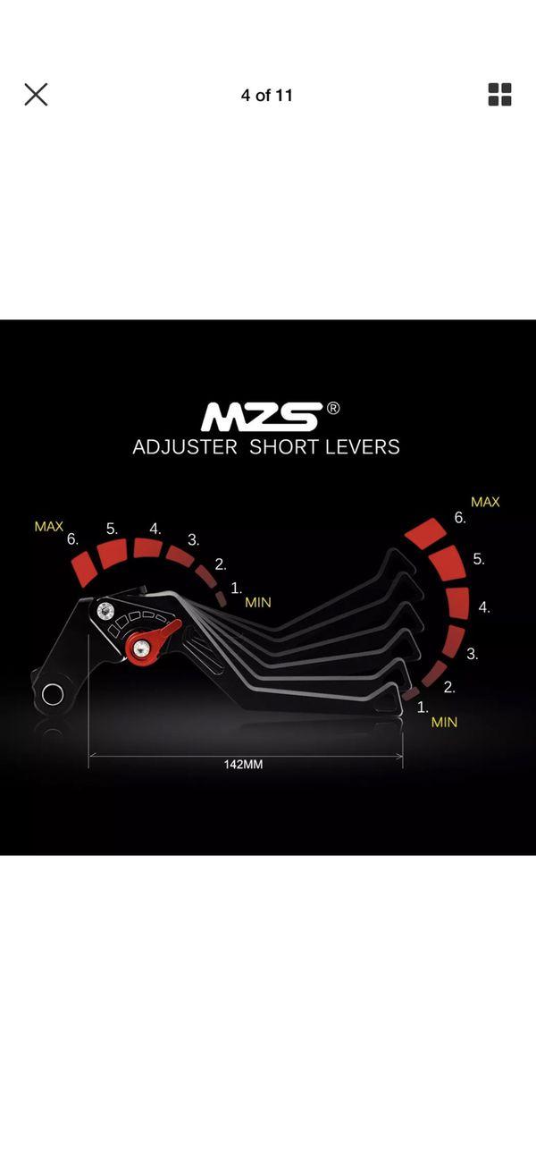 MZS Brake and clutch lever 2005-2006 Suzuki GSXR 1000