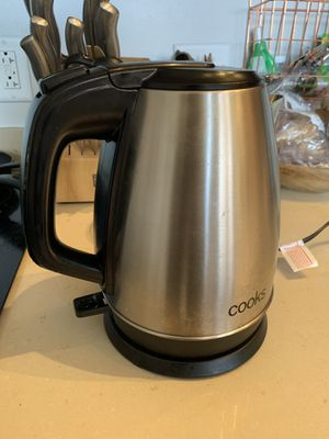 Silver electric kettle for Sale in Boston, MA