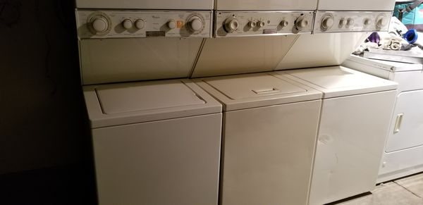 Stackable washer and dryer 4 sale.