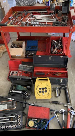 Mechanic Lot Sale Snap On, MAC, DeWalt, Vulcan, S-K, BluePoint, Matco you're buying it all for Sale in Bolingbrook, IL