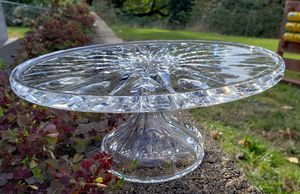 Waterford crystal cake stand for Sale in Bellevue, WA